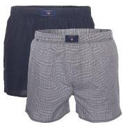 Gant 2-pack Woven Boxers Shorts * Fri Frakt * * Kampanj *
