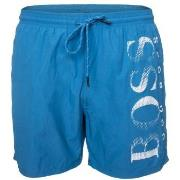 BOSS Octopus Swim Shorts Badbyxor Turkos polyamid Medium Herr