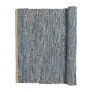 Magda bomullsmatta 60x90 cm Flint stone blue