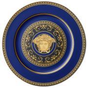 Versace Medusa Blue kuverttallrik 33 cm