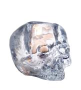 Skull ljuslykta klarglas