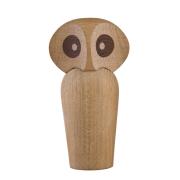 Owl träfigur ek