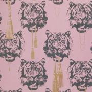 Coco Tiger tapet rosa