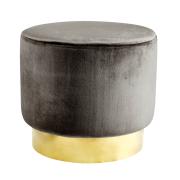 Jakobsdals sittpuff mole (mörkgrå)