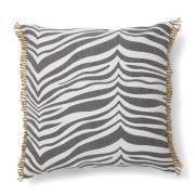 Zebra kudde 50x50 cm Titanium