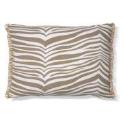 Zebra kudde 40x60 cm Simply taupe (beige)