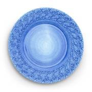 Lace Tallrik 32 cm, Ljusblå