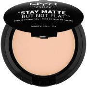 NYX PROFESSIONAL MAKEUP Stay Matte Not Flat Powder Foundation Natural