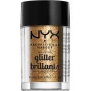 NYX PROFESSIONAL MAKEUP Face & Body Glitter - Bronze