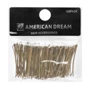 American Dream Straight Grips Blonde 5cm
