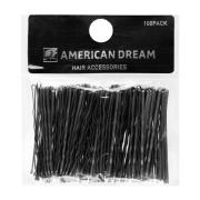 American Dream Wavy Grips Black 6.5cm Black 6,5cm