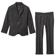 Emporio Armani Charcoal Wool 2 Button Suit 5 years