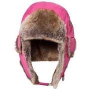 Barts Fuchsia Faux Fur Kamikaze Trapper Hat 53 (4-8 years)