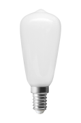 LED ljuskälla E14 Edison Opalvit, 39 mm