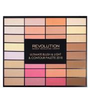 Makeup Revolution Blush, Light & Contour Palette
